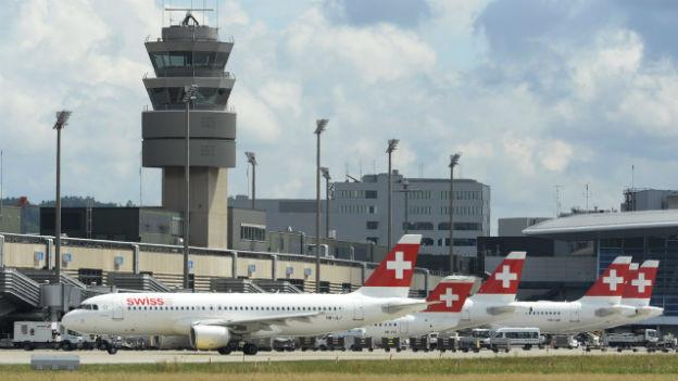 Flughafen Zürich Kloten.