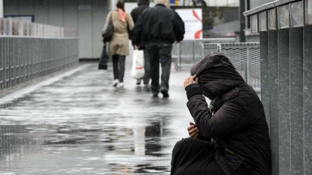 Jeder 13. in der Schweiz ist arm.
