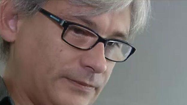 Der Journalist Ludovic Rocchi von Le Matin.
