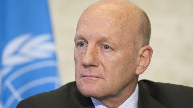 Manuel Bessler, Delegierter des Bundesrats für Humanitäre Hilfe und Chef des Schweizerischen Korps für Humanitäre Hilfe SKH