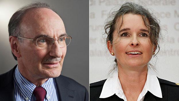 Felix Gutzwiller und Yvette Estermann.