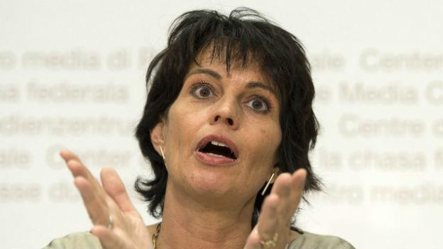 Doris Leuthard konkretisiert die Atomausstiegsstrategie.