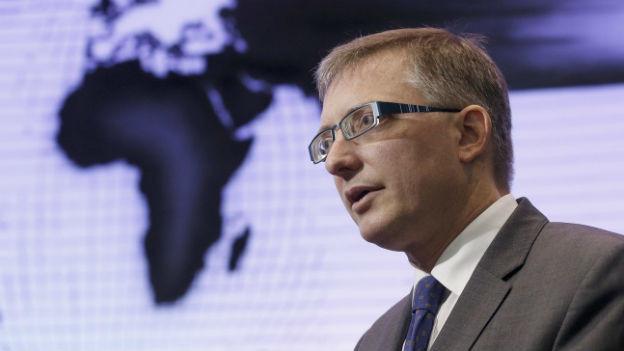 Nachrichtendienst-Chef Markus Seiler an einer Medienkonferenz im April 2013.