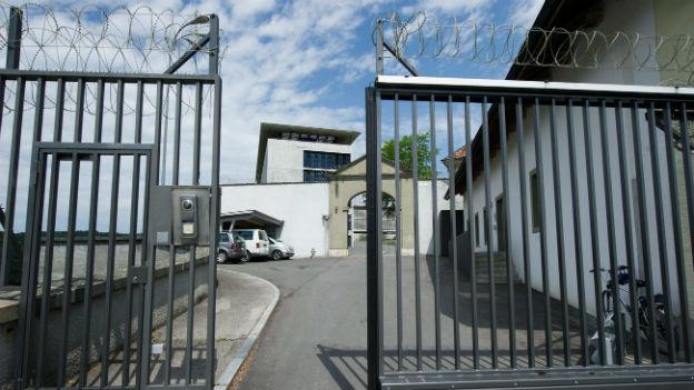 Die Strafanstalt Thorberg im Kanton Bern