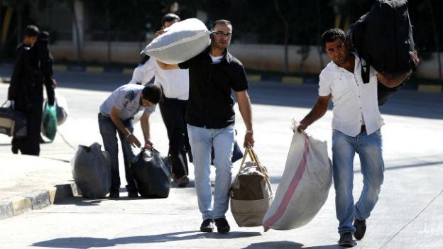 Syrische Flüchtlinge: Die Schweiz will 500 von ihnen aufnehmen.