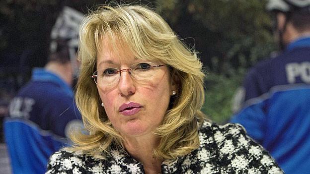 Die Waadtländer Justizdirektorin Jacqueline de Quattro.