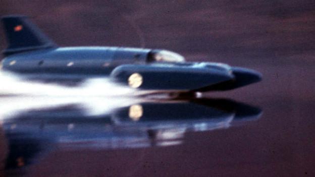 Mit seinem Motorboot Bluebird flitzte der Engländer Malcolm Campbell über den Hallwilersee.