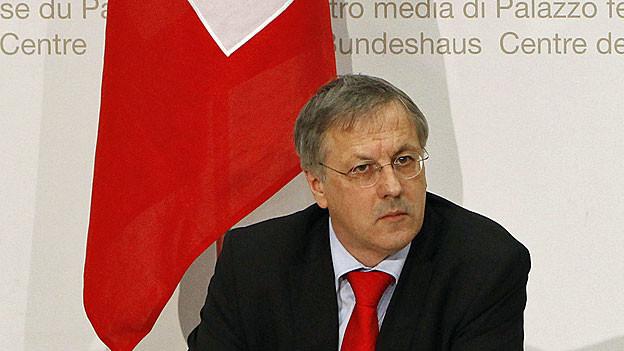 Christian Catrina, Chef Sicherheitspolitik im Verteidigungsdepartement.