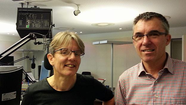 Brigitte Huber und Urs Edelmann von der Opferhilfe St. Gallen, Appenzell Ausser- und Innerrhoden.
