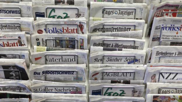 Medientalk: Einheitsbrei in Schweizer Medienlandschaft?
