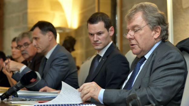 Medienkonferenz der Genfer Behörden (9.10.2013)