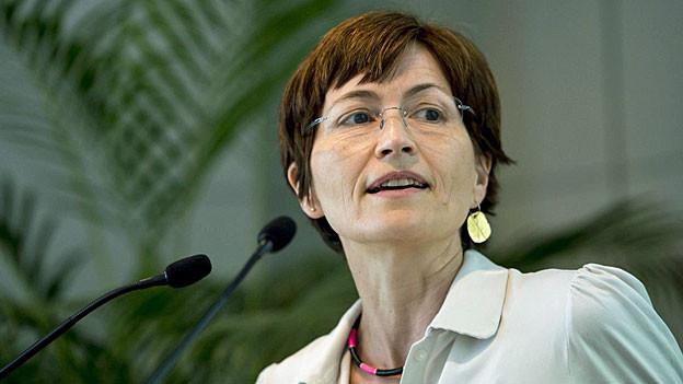 Regula Rytz, Co-Präsidentin der Grünen.