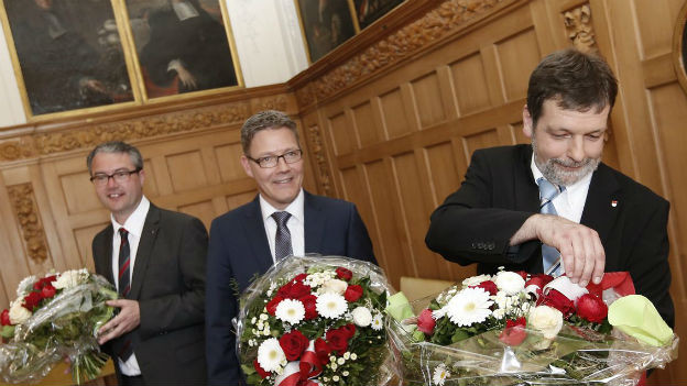 Solothurns Finanzdirektor Roland Heim nach der Wahl.