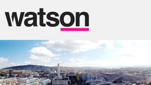 Screenshot der provisorischen Internetseite von «Watson».
