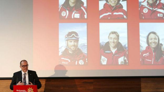 Jürg Schmid, Direktor Schweiz Tourismus an der Wintersaisonmedienkonferenz.