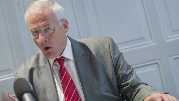 Walter Steinmann, Direktor des Bundesamts für Energie, an einer Medienkonferenz am 10. Oktober 2012