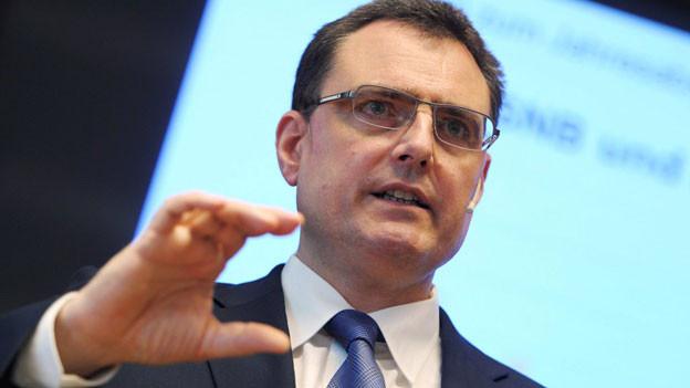 Thomas Jordan, Präsident der Schweizerischen Nationalbank
