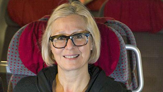 Jeannine Pilloud. Sie ist bei der SBB verantwortlich für den Personenverkehr.