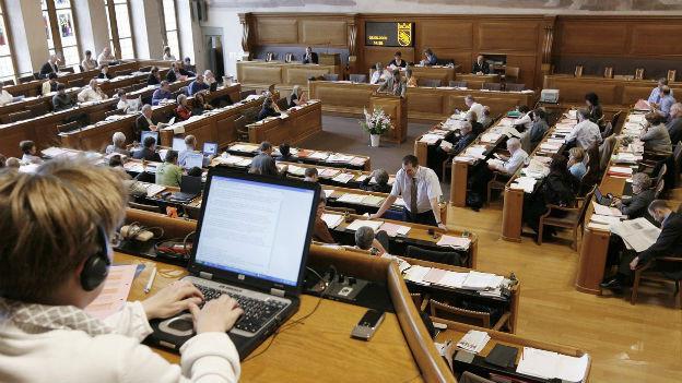 Der Berner Grosse Rat beginnt am Mittwoch mit der Spardebatte.