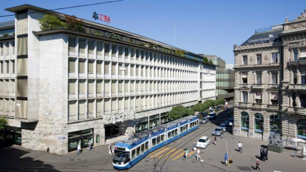 Keine strengeren Regeln auf dem Schweizer Bankenplatz: Laut dem Bundesrat genügt der automatische Informationsaustausch.