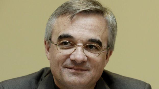 Der neue Bischof von Lugano Valerio Lazzeri.