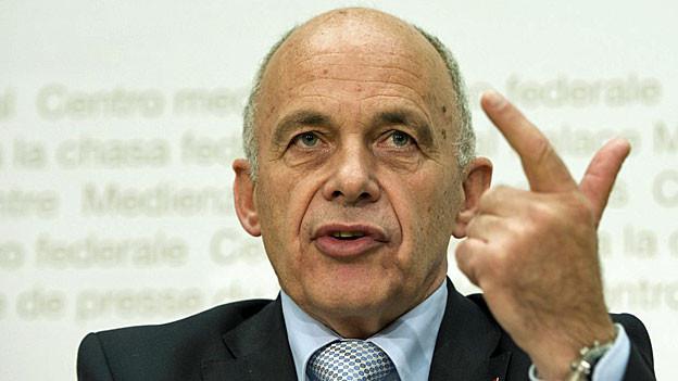 Bundespräsident Ueli Maurer Ende Oktober in Bern.