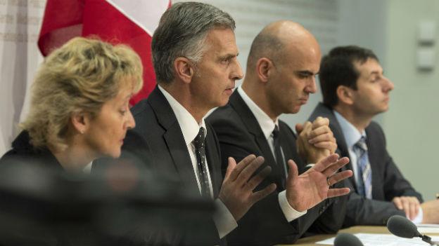Der Bundesrat will mit der EU verhandeln