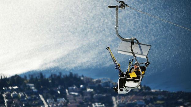 Skifahren im Tessin
