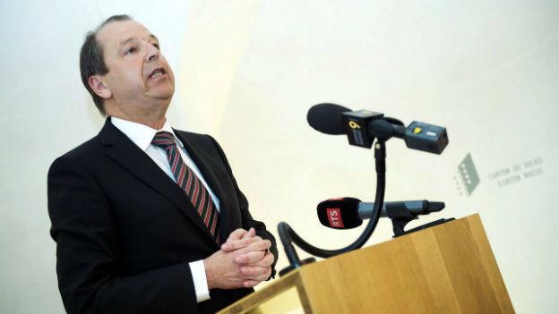 Walliser CVP-Regierungsrat Maurice Tornay