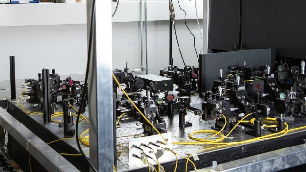 Quanten-Arbeit von Physikern an der Universität Genf.