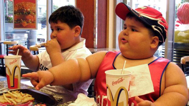 Übergewichtige Kinder