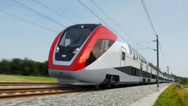 Solche Doppelstöcker von Bombardier sollten in 2 Jahren durch die Schweiz rollen.