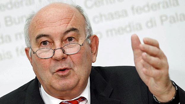Willi Scholl, Direktor des Bundesamst für Bevölkerungsschutz BABS.
