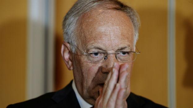 Johann Schneider-Ammann gibt sich bedeckt: hier an der FDP-Delegiertenversammlung am 11. Januar 2014.