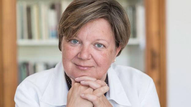 Isabelle Chassot, aufgenommen am 22. Juli 2013 in Fribourg. Im Mai 2013 wurde die Freiburgerin vom Bundesrat auf den 1. November 2013 zur neuen Direktorin des Bundesamtes für Kultur (BAK) ernannt.