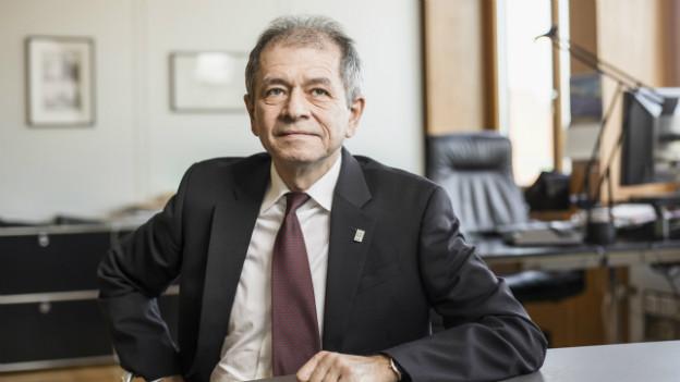 Antonio Loprieno, Rektor der Universität Basel.