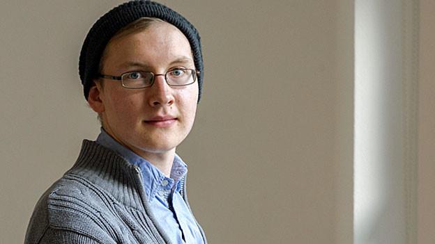 Stefan Bachmann, 20, Bestsellerautor und Komponist.