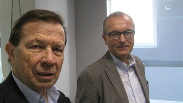 Franz Steinegger und Hans-Jürg Fehr im Sondertalk.