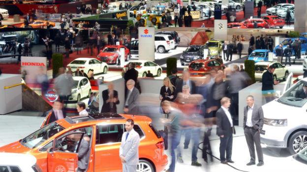 Der Autosalon in Genf.