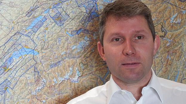 Daniel Knecht, Linien-Pilot und Leiter SUST-Geschäftsstelle.