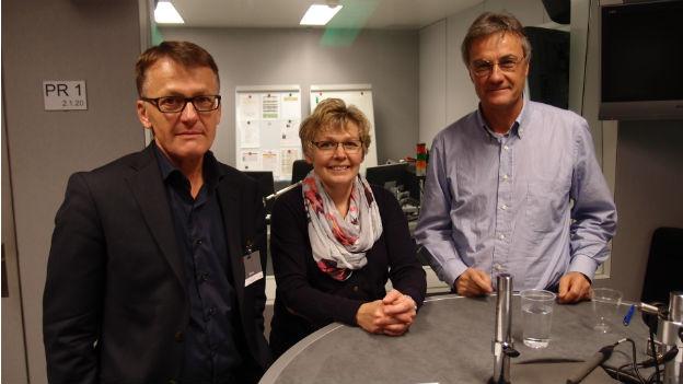 Thomas Meier, Christine Bühler, Peter Bertschi (v.l.n.r.).