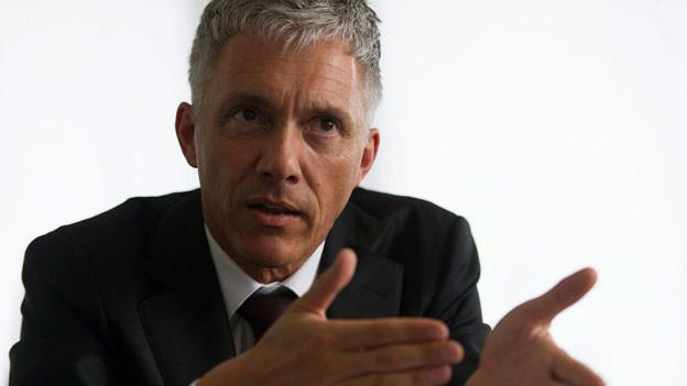 Bundesanwalt Michael Lauber im Interview mit der Neuen Luzerner Zeitung in Bern am Mittwoch, 19. Juni 2013.