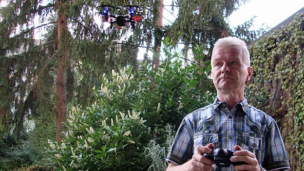 Markus Farner, Drohnen-Spezialist beim Bundesamt für Zivilluftfahrt Bazl.