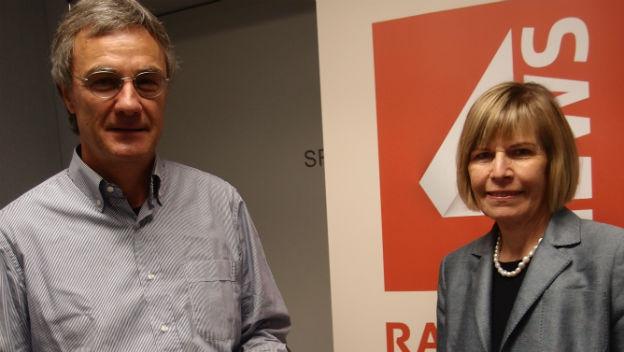 Peter Bertschi und Erika Forster