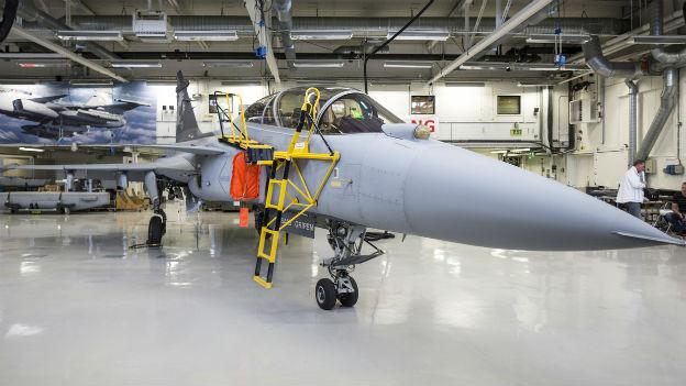 Der schwedische Gripen - bald der neue Kampfjet für die Schweizer Armee?