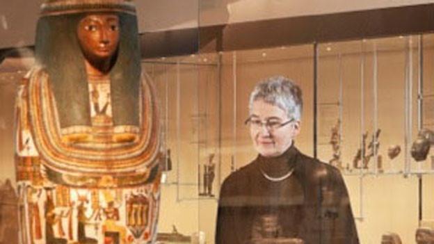 Susanne Bickel, Archäologieprofessorin der Universität Basel.