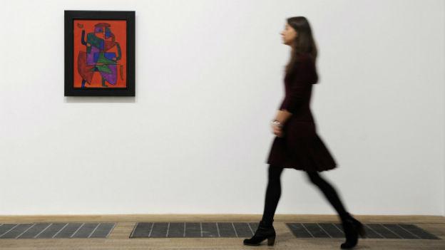 Paul Klee zog viele Künstler in der Nachkriegszeit nach Bern.