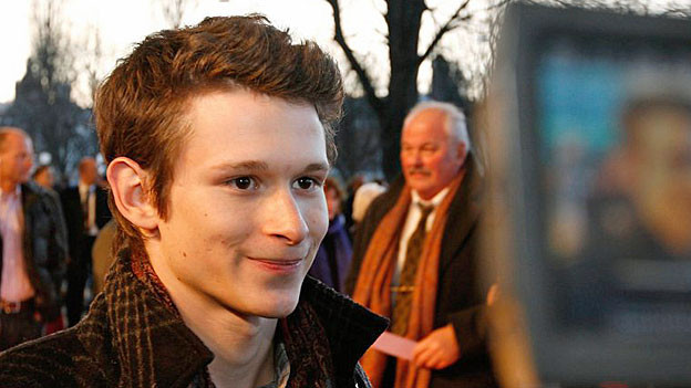 Joel Basman, bei der Verleihung des Schweizer Filmpreises Quartz im März 2009.