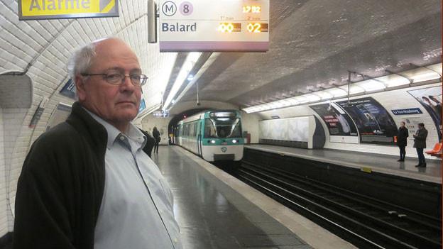 Ruedi Mäder, Frankreich-Korrespondent von Schweizer Radio und Fernsehen SRF.