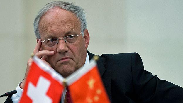 Wirtschaftsminister Johann Schneider-Ammann.